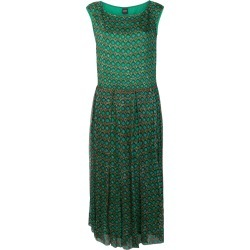 Aspesi geometric printed dress - Green found on MODAPINS from FarFetch.com- UK for USD $1295.86