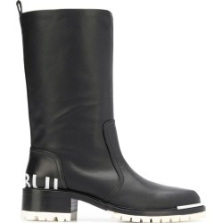 Barbara Bui round toe knee boots - Black found on MODAPINS from FarFetch.com- UK for USD $716.68
