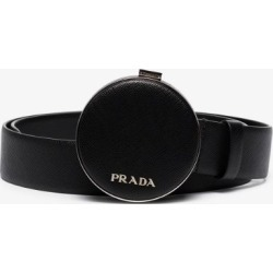 Prada Womens Black Saffiano Leather Pouch Belt found on Bargain Bro UK from Browns Fashion