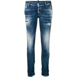 Dsquared2 distressed skinny jeans - Blue found on MODAPINS from FARFETCH.COM Australia for USD $256.04