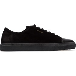 Axel Arigato Black Captoe low-top suede sneakers found on MODAPINS from FARFETCH.COM Australia for USD $189.28