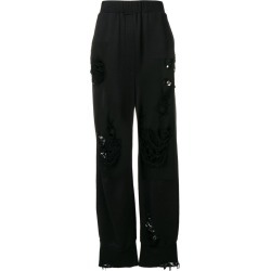Almaz distressed trousers - Black found on MODAPINS from FarFetch.com - US for USD $297.00
