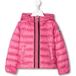 Moncler Kids hooded down coat