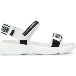 Prada Cloudbust sandals - White found on MODAPINS from FARFETCH.COM Australia for USD $637.74