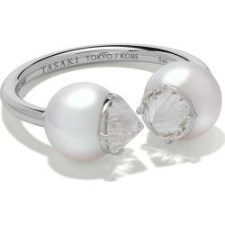 Tasaki platinum refined rebellion signature Akoya pearl and diamond