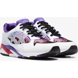 Asics white X SNKRWLF Kayano low top leather sneakers found on Bargain Bro UK from Browns Fashion for $98.21