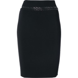 Alexander Wang sequin embellished skirt - Black found on MODAPINS from FARFETCH.COM Australia for USD $708.44