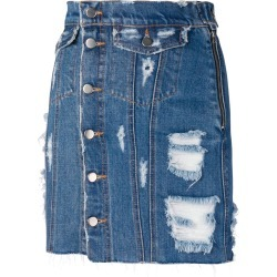 Almaz buttoned skirt - Blue found on MODAPINS from FarFetch.com- UK for USD $366.98