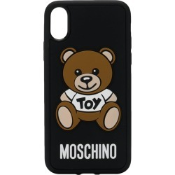 Moschino polka-dot iPhone X case - Black