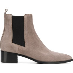 Aeyde ankle chelsea boots - Grey found on MODAPINS from FarFetch.com - US for USD $295.00