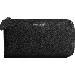 Burberry Two-tone Leather Ziparound Wallet and Coin Case - Black found on Bargain Bro Philippines from FarFetch.com - US for $630.00