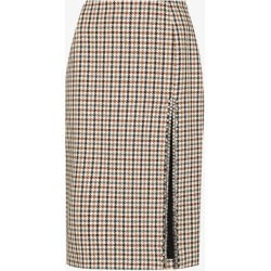 Area Womens Neutrals Houndstooth Crystal Embellished Pencil Skirt found on MODAPINS from Browns Fashion for USD $906.65
