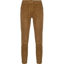 Arma slim-fit cropped trousers - Brown found on MODAPINS from FarFetch.com- UK for USD $774.71