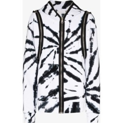 Faith Connexion Mens Black Zipped Tie-dye Hoodie found on MODAPINS from Browns Fashion for USD $782.79
