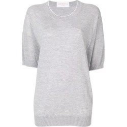Agnona short-sleeve jumper - Grey found on MODAPINS from FarFetch.com - US for USD $331.00