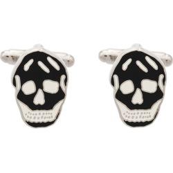 Alexander McQueen skull cufflinks - Black found on Bargain Bro India from FARFETCH.COM Australia for $81.57