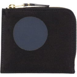 Comme Des Garçons Wallet polka dot printed wallet - Black found on Bargain Bro UK from FarFetch.com- UK