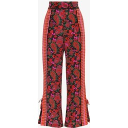 A Peace Treaty printed silk trousers found on MODAPINS from Browns Fashion for USD $181.28