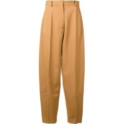 Victoria Beckham high waist tapered trousers - Neutrals found on Bargain Bro Philippines from FarFetch.com - US for $1108.00