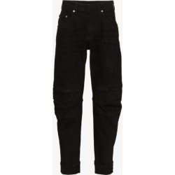 Neil Barrett Mens Black Five Pocket Tapered Jeans found on Bargain Bro UK from Browns Fashion