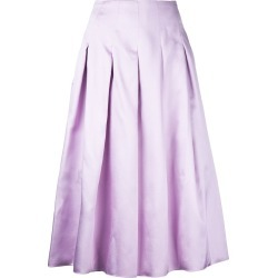 Bambah pleated midi skirt - Pink found on MODAPINS from FARFETCH.COM Australia for USD $595.62