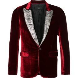 Amiri embellished velvet blazer - Red found on MODAPINS from FarFetch.com- UK for USD $7526.96
