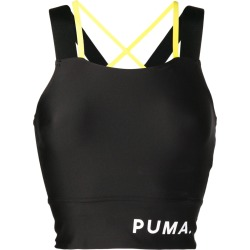Puma logo banded crop top - Black found on Bargain Bro India from FarFetch.com - US for $42.00