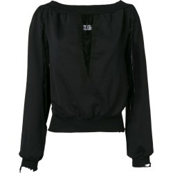 Almaz lace panel top - Black found on MODAPINS from FarFetch.com- UK for USD $402.70