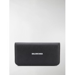 Balenciaga logo-print leather wallet found on MODAPINS from stefania mode for USD $447.00