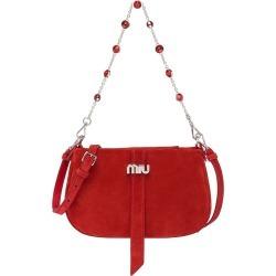 Miu Miu embellished chain shoulder bag - Red found on Bargain Bro UK from FarFetch.com- UK