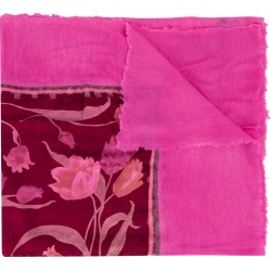 Avant Toi floral print scarf - Pink found on MODAPINS from FarFetch.com - US for USD $903.00
