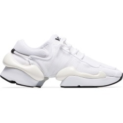 Y-3 white Kaiwa Pod mesh low top sneakers found on Bargain Bro UK from FarFetch.com- UK for $310.04