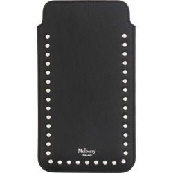 Mulberry studded iPhone Plus cover - Black