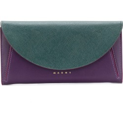 Marni foldover top wallet - Purple found on Bargain Bro Philippines from FarFetch.com - US for $700.00