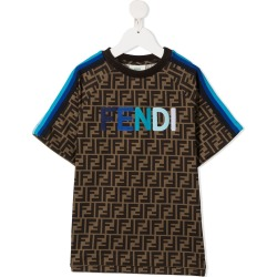 Fendi Kids FF print T-shirt found on Bargain Bro UK from Eraldo