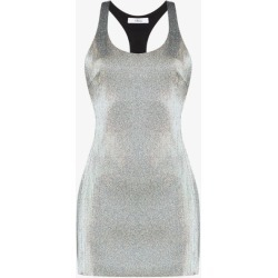 Area Womens Silver Racerback Mini Dress found on MODAPINS from Browns Fashion for USD $717.49