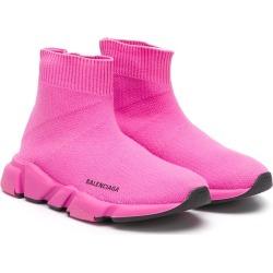 100% high quality aliexpress good service Balenciaga Kids Speed sock sneakers - Pink