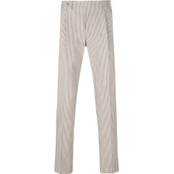 Berwich striped straight leg trousers - Neutrals found on MODAPINS from FarFetch.com- UK for USD $201.28