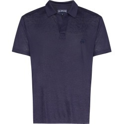 Vilebrequin Pyramid short-sleeve polo shirt - Blue found on Bargain Bro UK from FarFetch.com- UK