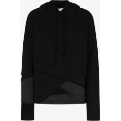 Greg Lauren Mens Black Fragment Cotton Hoodie found on MODAPINS from Browns Fashion for USD $847.94