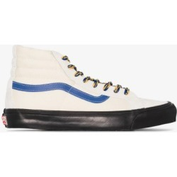 Vans Mens White Cream Og Sk8-hi Lx Sneakers found on Bargain Bro UK from Browns Fashion