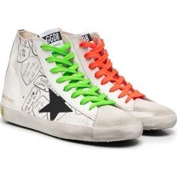 Golden Goose Kids TEEN Francy leather high-top sneakers found on Bargain Bro UK from Eraldo