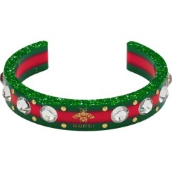 Gucci Web cuff with crystals found on Bargain Bro UK from Eraldo