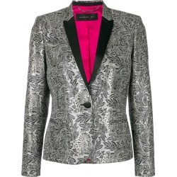 Barbara Bui embroidered fitted blazer - Grey found on MODAPINS from FarFetch.com - US for USD $728.00
