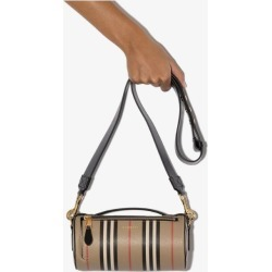 Burberry Womens Neutrals The Vintage Check Barrel Bag found on Bargain Bro UK from Browns Fashion