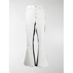 Mm6 Maison Margiela monochrome block jeans found on Bargain Bro UK from MODES GLOBAL