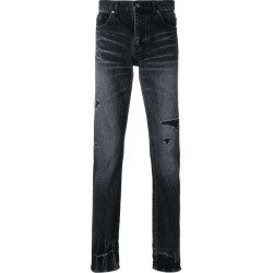 Saint Laurent ripped low waisted skinny jeans - Black found on Bargain Bro UK from FarFetch.com- UK