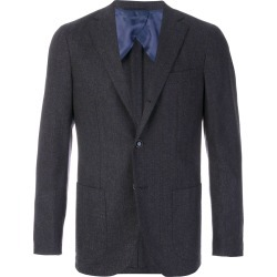 Barba classic fitted blazer - Grey found on MODAPINS from FarFetch.com- UK for USD $689.57
