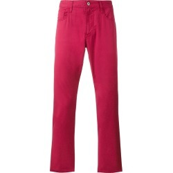 Armani Jeans regular fit jeans - Red found on MODAPINS from FARFETCH.COM Australia for USD $118.29