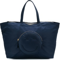 Anya Hindmarch Chubby Wink large tote - Blue found on MODAPINS from FarFetch.com- UK for USD $548.97
